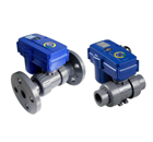KLD160 2-way motorized plastic ball valves (1/2